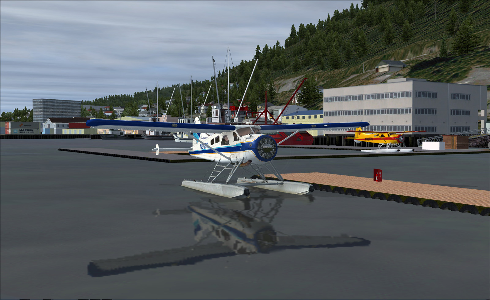 Ketchikan float planes bases : Pacific Airways and The Beaver